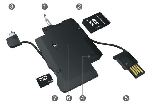 MOCA X7s 部件图示